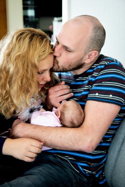 Newbornshoot, newbornfotografie, spontane fotografie, lifestyle newbornshoot, babyfotografie, babyfoto's