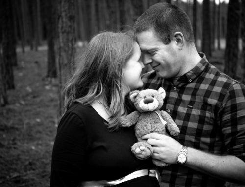 Zwangerschapsshoot Bertilda en Arjan