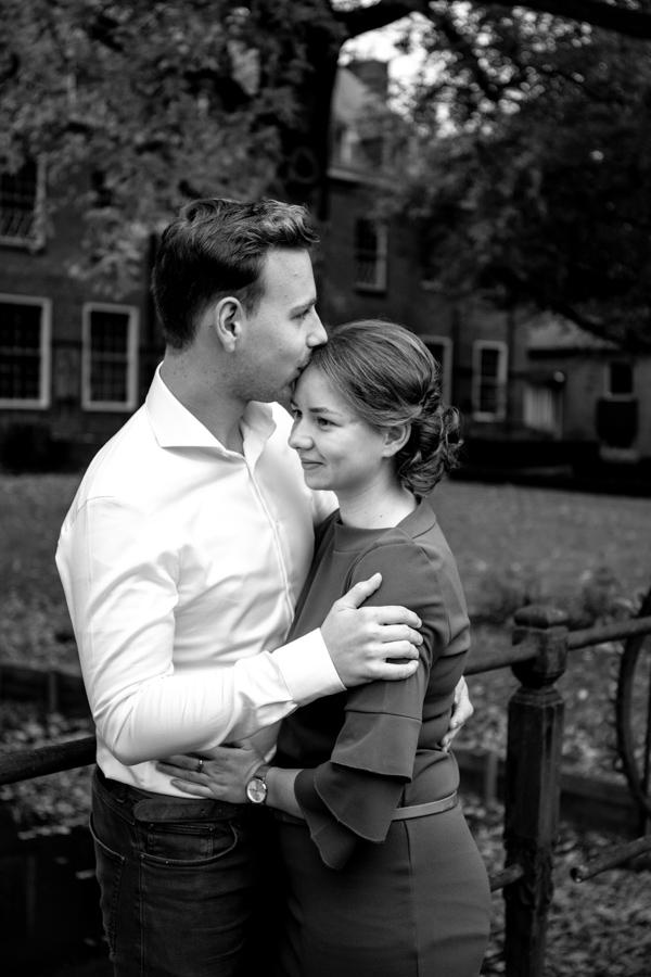 Loveshoot, koppelshoot, coupleshoot, spontane fotografie, kasteel essenburgh