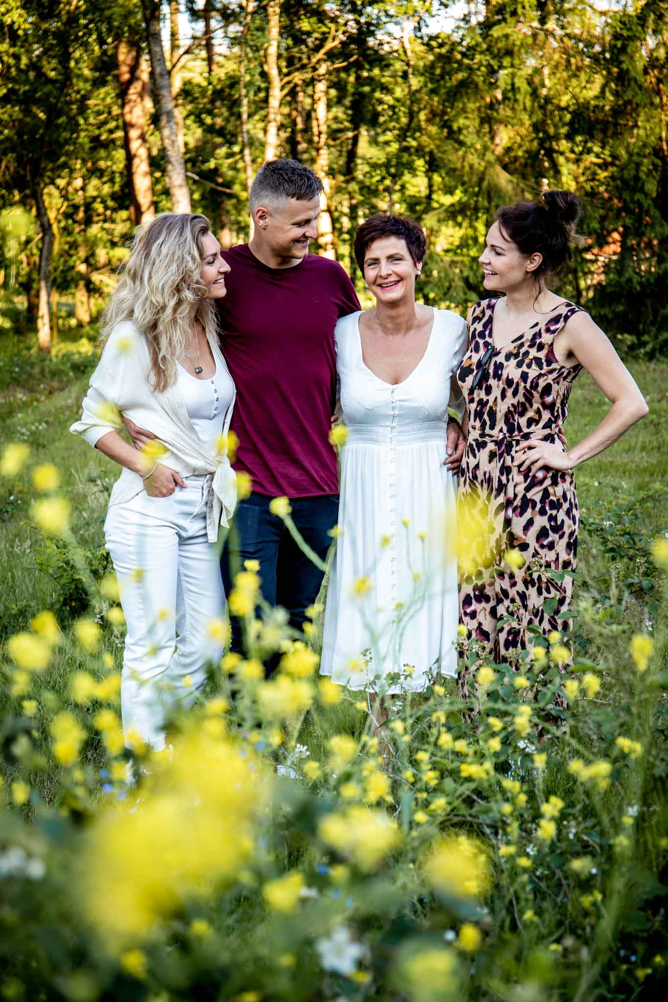 Familieshoot, gezinsshoot, spontane foto's, harderwijk